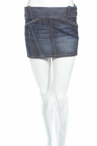 Φούστα Armani Exchange, Μέγεθος S, Χρώμα Μπλέ, 99% βαμβάκι, 1% ελαστάνη, Τιμή 6,34€