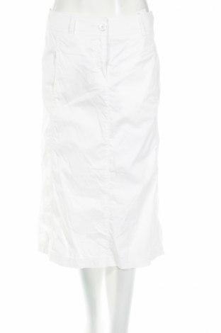 Пола Atelier GARDEUR, Размер S, Цвят Бял, 97% памук, 3% еластан, Цена 11,25лв.