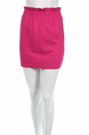 Sukňa Bershka, Veľkosť XS, Farba Ružová, 699% viskóza, 27% polyamide, 4% elastan, Cena  5,30€