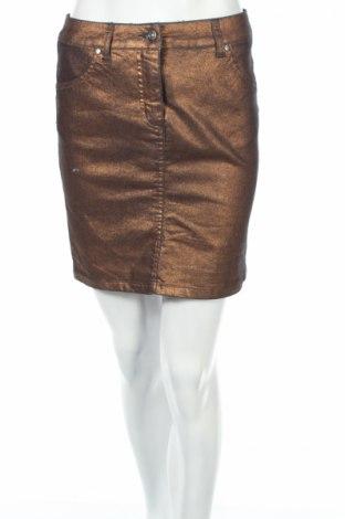 Φούστα Class International Fx, Μέγεθος XS, Χρώμα Χρυσαφί, 70% βαμβάκι, 28% πολυεστέρας, 2% ελαστάνη, Τιμή 2,78€