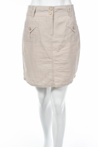 Пола U Collection, Размер M, Цвят Сив, 55% лен, 45% памук, Цена 3,09лв.
