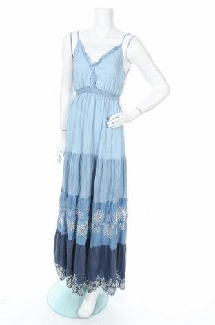 Šaty  Desigual, Rozměr M, Barva Modrá, Lyocell, Cena  1242,00Kč