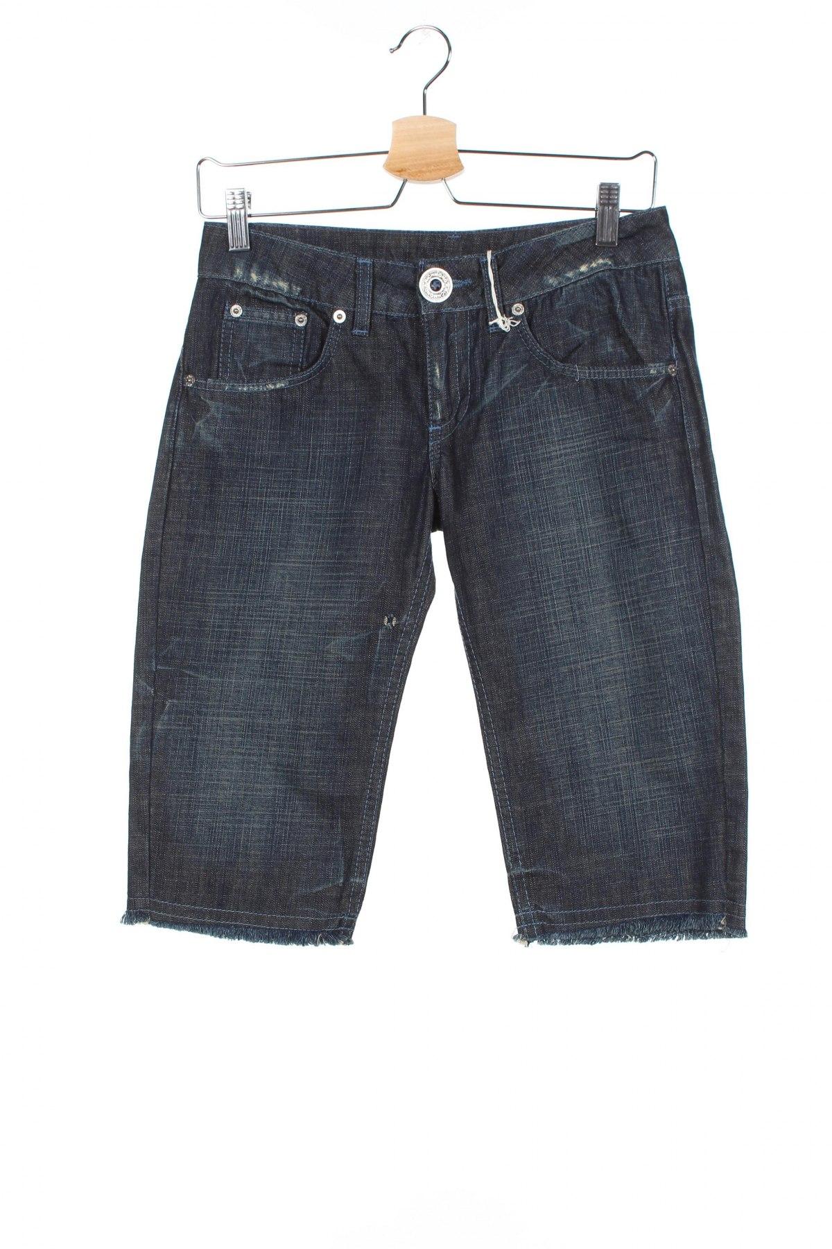 Γυναικείο κοντό παντελόνι Richmond, Μέγεθος S, Χρώμα Μπλέ, Βαμβάκι, Τιμή 26,98€