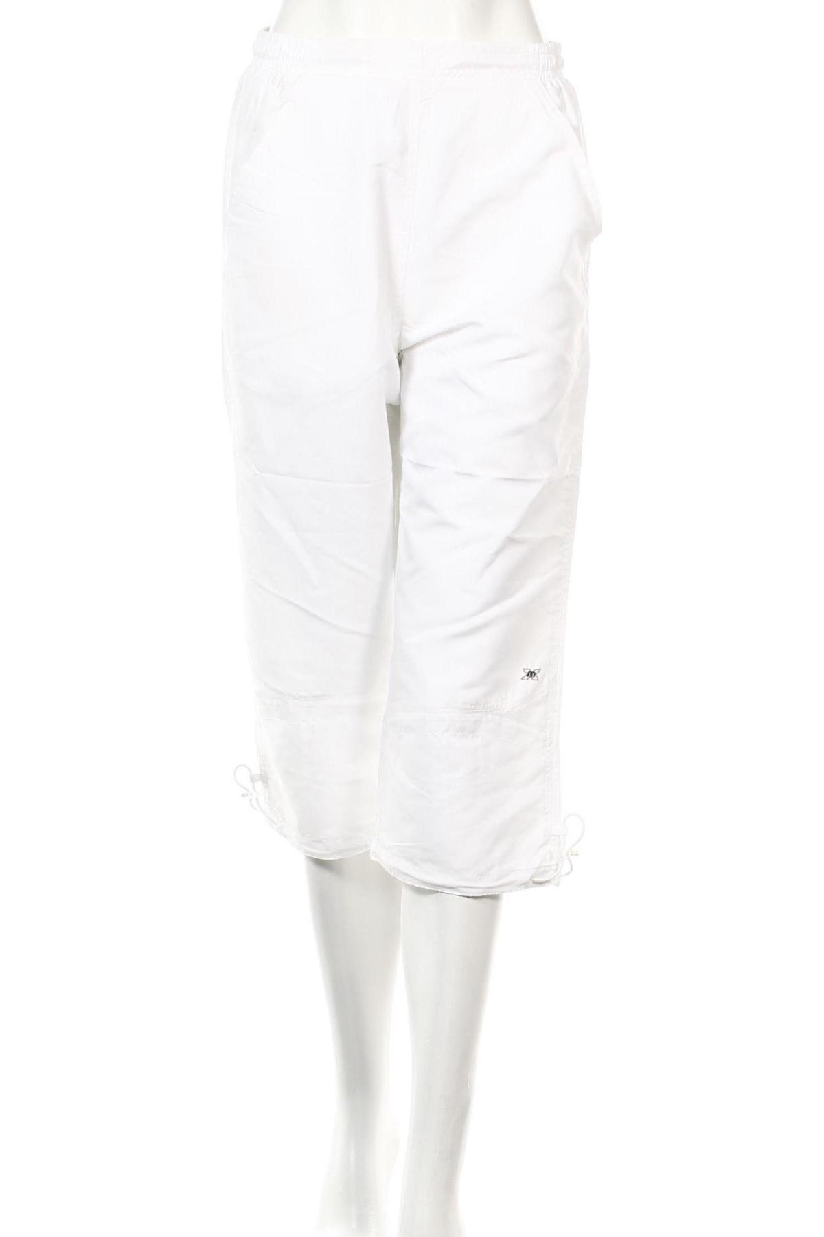 Дамско спортно долнище Masita, Размер M, Цвят Бял, Полиестер, Цена 3,36лв.
