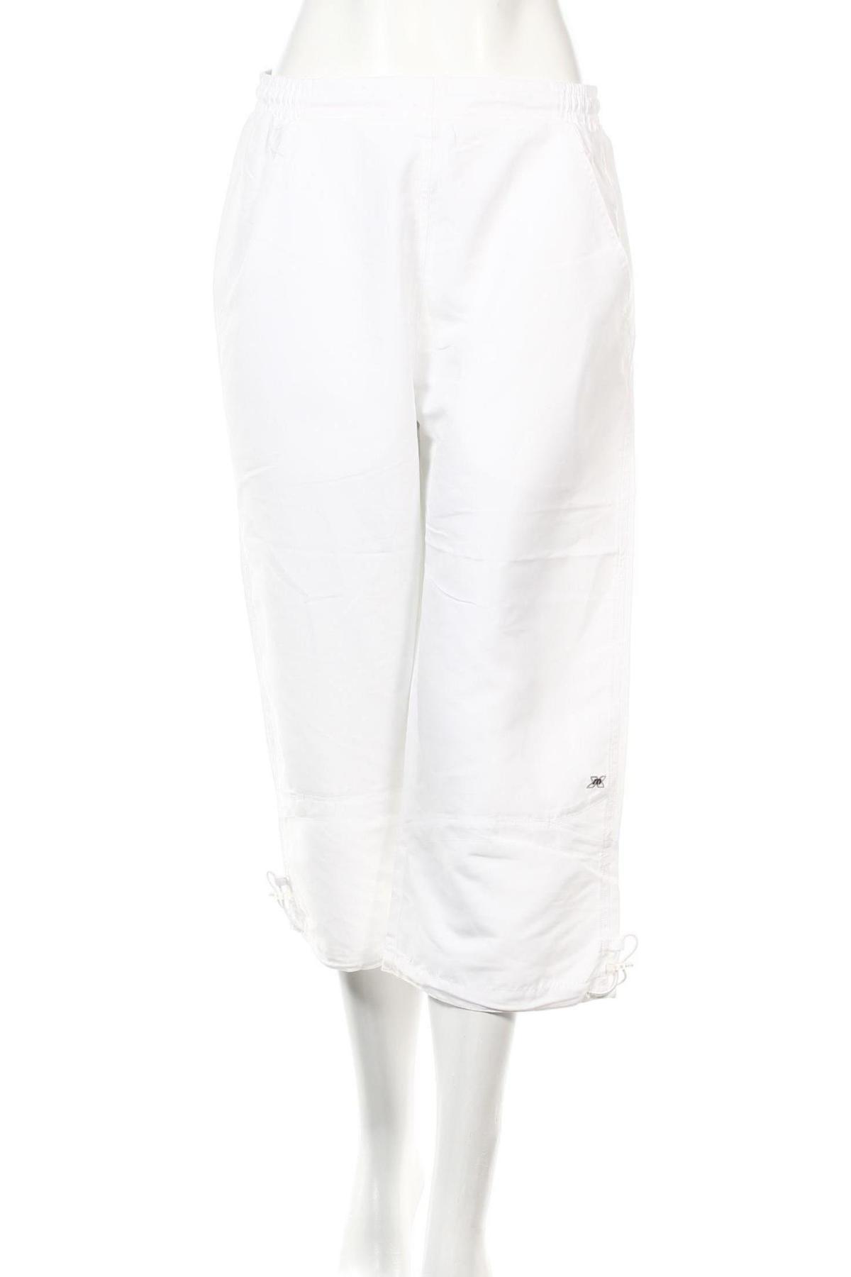 Дамско спортно долнище Masita, Размер L, Цвят Бял, Полиестер, Цена 3,36лв.