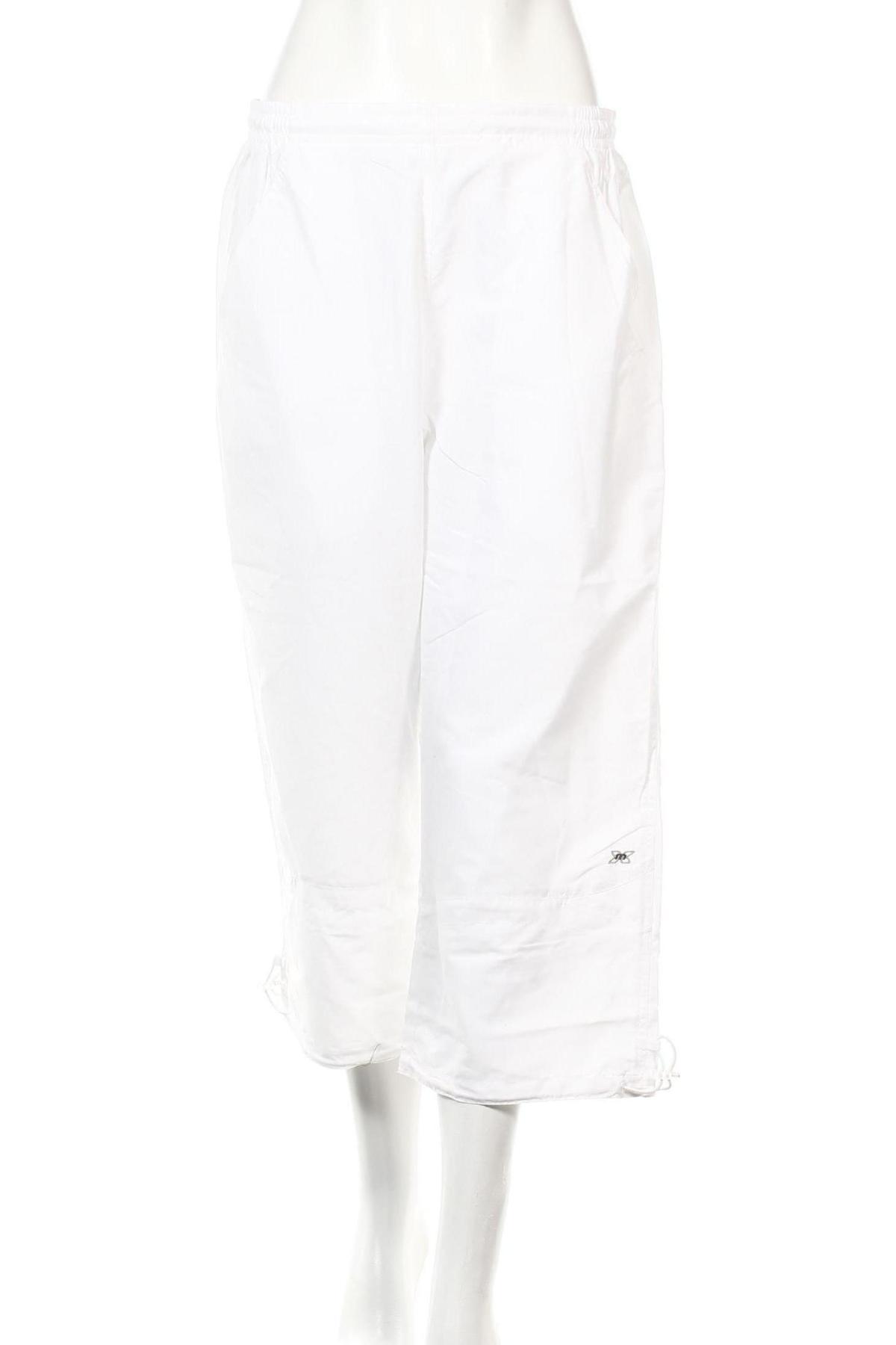 Дамско спортно долнище Masita, Размер XL, Цвят Бял, Полиестер, Цена 3,36лв.