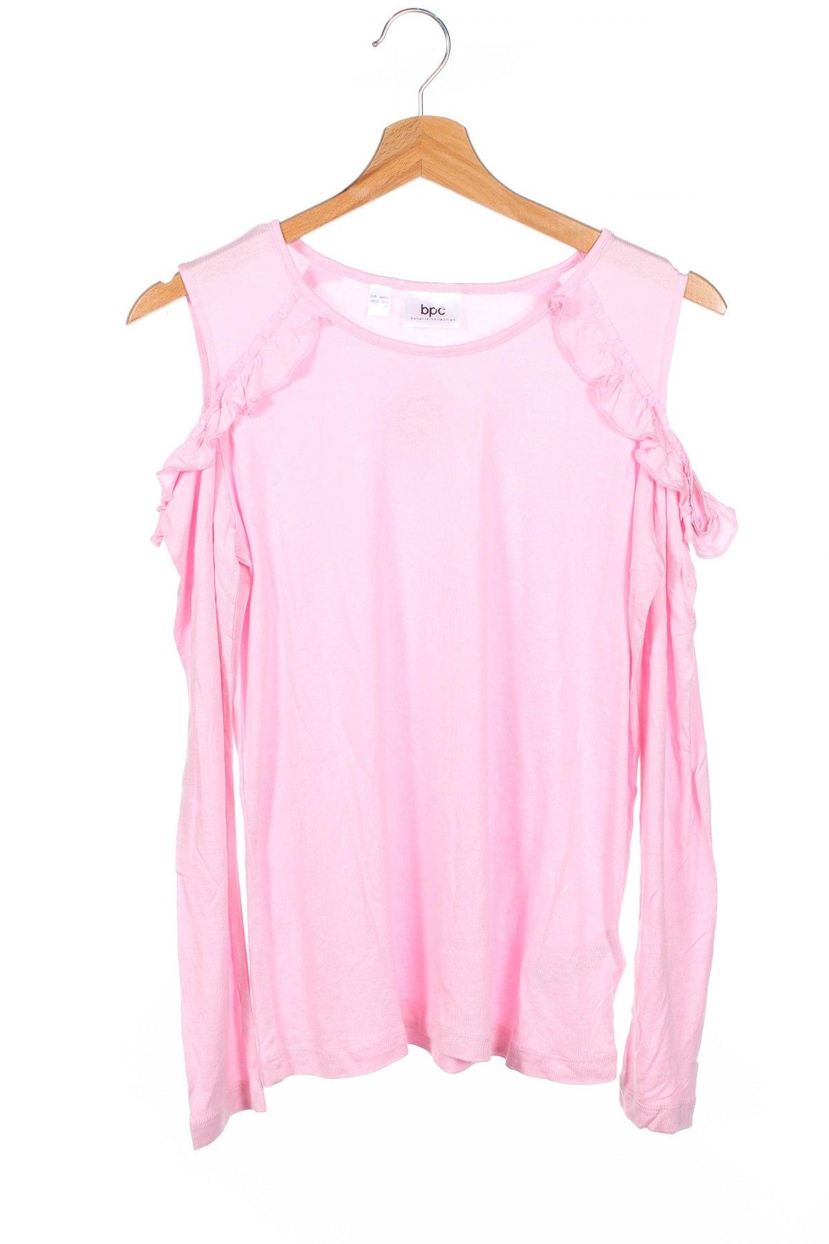 Детска блуза Bpc Bonprix Collection, Размер 14-15y/ 168-170 см, Цвят Розов, Вискоза, Цена 5,76лв.