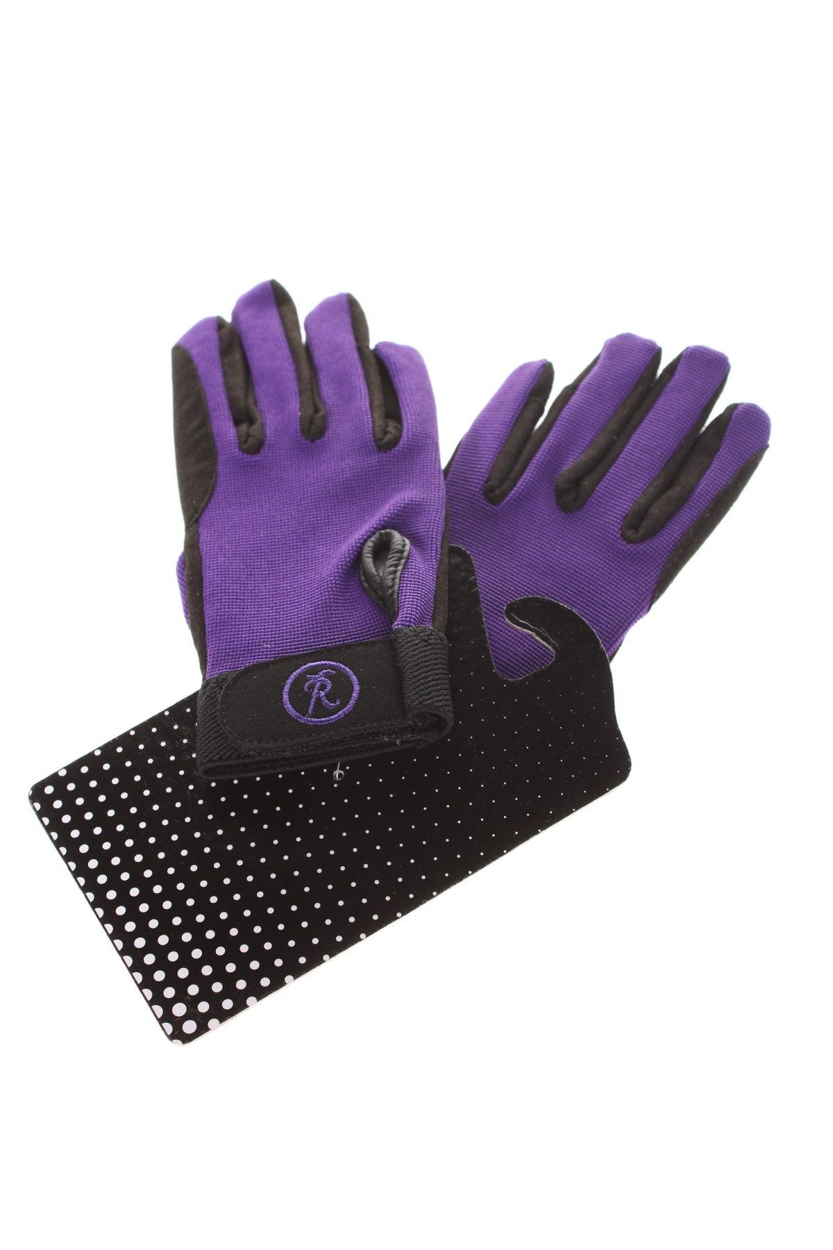 Детски ръкавици Riders Trend, Цвят Лилав, Еко кожа, еластан, Цена 19,50лв.