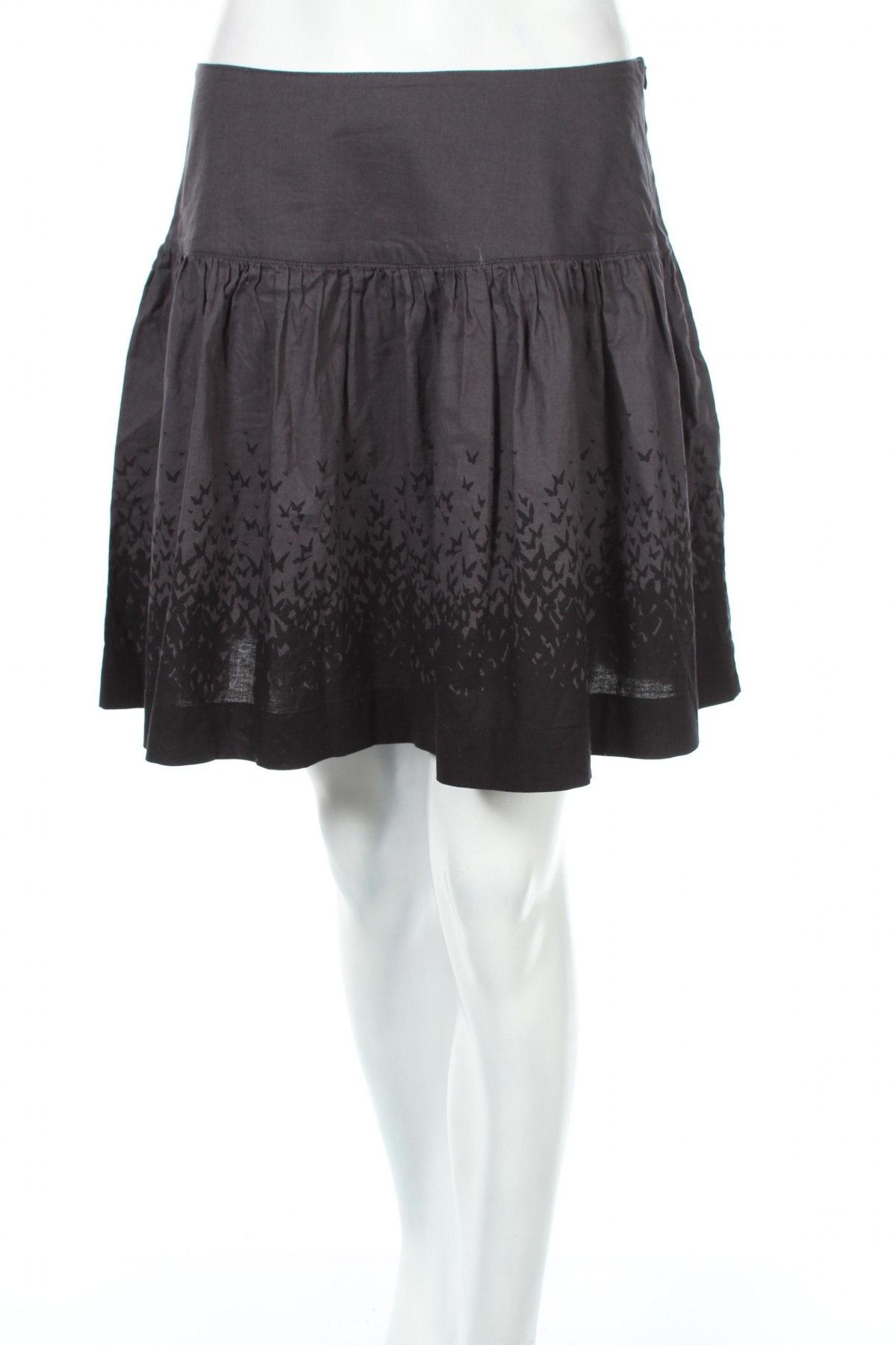 Φούστα La Redoute, Μέγεθος XS, Χρώμα Γκρί, Βαμβάκι, Τιμή 4,07€