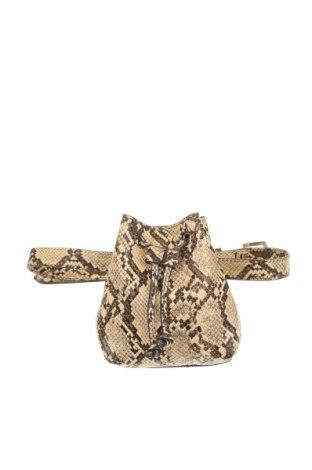 Чанта за кръст Mango, Цвят Бежов, Еко кожа, Цена 21,75лв.
