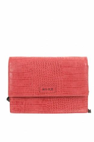 Чанта за кръст Na-Kd, Цвят Розов, Еко кожа, Цена 17,75лв.