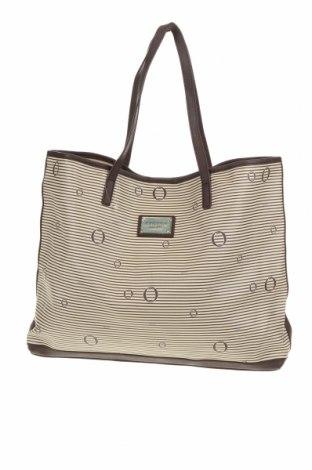 Дамска чанта Oroton, Цвят Бежов, Еко кожа, Цена 40,95лв.