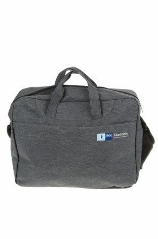 Τσάντα φορητού υπολογιστή, Χρώμα Γκρί, Κλωστοϋφαντουργικά προϊόντα, Τιμή 15,46€