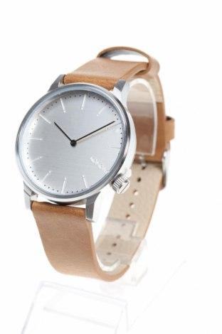 Часовник Komono, Цвят Кафяв, Метал, еко кожа, Цена 49,17лв.