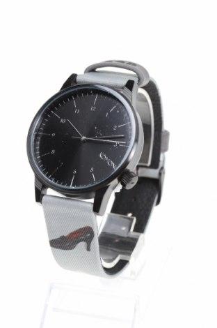 Часовник Komono, Цвят Сив, Метал, текстил, Цена 52,82лв.