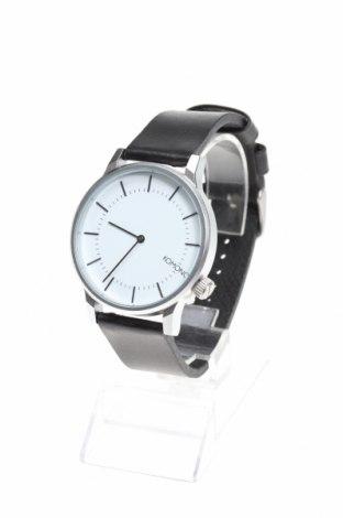 Ρολόι Komono, Χρώμα Μαύρο, Μέταλλο, γνήσιο δέρμα, Τιμή 23,04€
