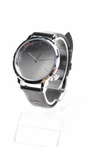 Часовник Komono, Цвят Черен, Метал, естествена кожа, Цена 56,62лв.