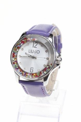 Ρολόι Liu Jo, Χρώμα Βιολετί, Δερματίνη, μέταλλο, Τιμή 94,29€