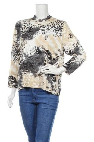 Дамска блуза, Размер XXL, Цвят Многоцветен, 97% вискоза, 3% еластан, Цена 3,00лв.