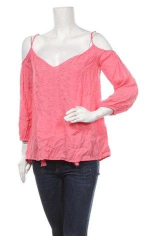 Дамска блуза, Размер M, Цвят Розов, Вискоза, Цена 5,67лв.