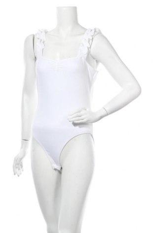 Bluză-body de damă. Miss Selfridge, Mărime XL, Culoare Alb, 94% bumbac, 6% elastan, Preț 48,36 Lei