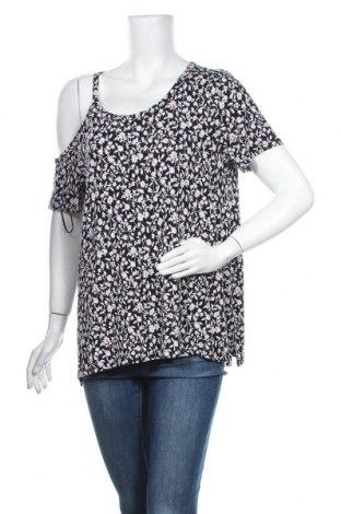 Γυναικεία μπλούζα A.N.A., Μέγεθος M, Χρώμα Μαύρο, 95% βισκόζη, 5% ελαστάνη, Τιμή 8,83€