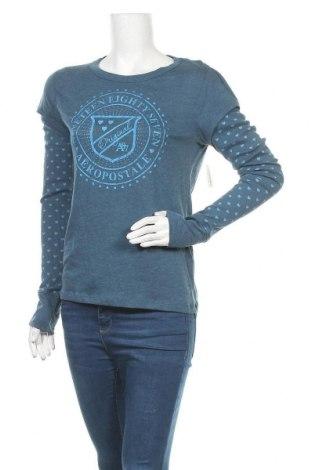 Γυναικεία μπλούζα Aeropostale, Μέγεθος XL, Χρώμα Μπλέ, 60% βαμβάκι, 40% πολυεστέρας, Τιμή 18,19€