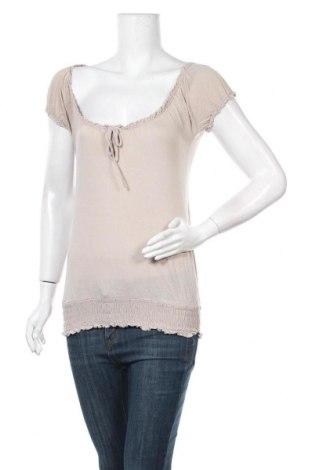 Дамска блуза Amisu, Размер XS, Цвят Бежов, Вискоза, Цена 3,00лв.