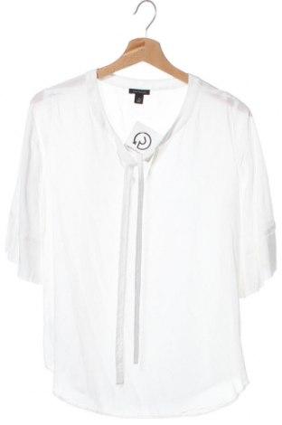 Γυναικεία μπλούζα Ann Taylor, Μέγεθος XS, Χρώμα Λευκό, Βισκόζη, Τιμή 21,04€