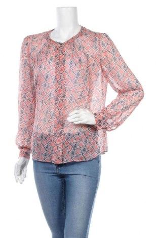 Дамска блуза Armani Jeans, Размер L, Цвят Розов, Коприна, Цена 56,80лв.