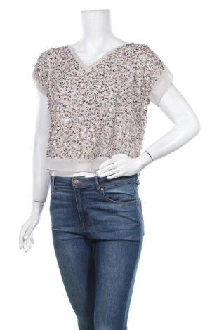 Дамска блуза Ashley Brooke, Размер M, Цвят Сив, Полиестер, Цена 13,39лв.