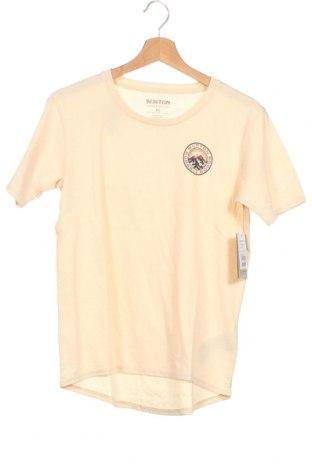 Γυναικεία μπλούζα Burton, Μέγεθος XS, Χρώμα  Μπέζ, Βαμβάκι, Τιμή 32,12€