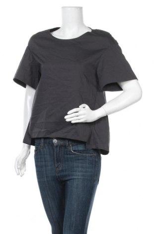 Γυναικεία μπλούζα COS, Μέγεθος XS, Χρώμα Γκρί, 71% βαμβάκι, 25% πολυαμίδη, 4% ελαστάνη, Τιμή 25,33€