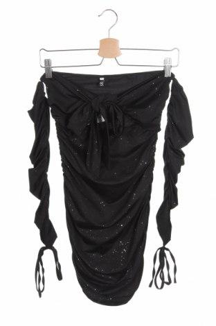 Дамска блуза Cbr, Размер S, Цвят Черен, 65% памук, 35% полиестер, Цена 6,14лв.