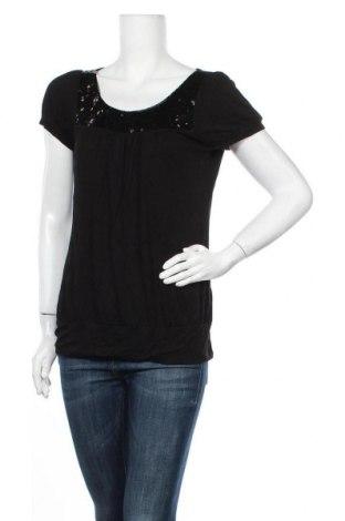 Γυναικεία μπλούζα Charlotte Russe, Μέγεθος L, Χρώμα Μαύρο, 94% βισκόζη, 6% ελαστάνη, Τιμή 11,59€