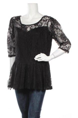 Γυναικεία μπλούζα City Chic, Μέγεθος XL, Χρώμα Μαύρο, Πολυαμίδη, πολυεστέρας, Τιμή 13,64€