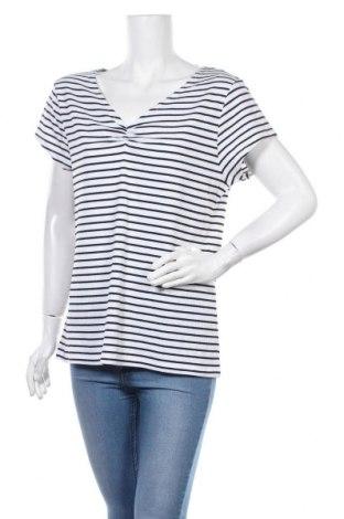 Γυναικεία μπλούζα Clothing & Co, Μέγεθος XXL, Χρώμα Λευκό, 64% πολυεστέρας, 32% βαμβάκι, 4% ελαστάνη, Τιμή 10,49€