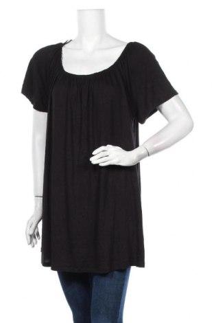 Γυναικεία μπλούζα Clothing & Co, Μέγεθος XXL, Χρώμα Μαύρο, 97% βισκόζη, 3% ελαστάνη, Τιμή 18,84€