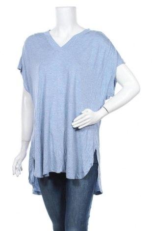 Γυναικεία μπλούζα Clothing & Co, Μέγεθος XL, Χρώμα Μπλέ, 80% βισκόζη, 20% πολυεστέρας, Τιμή 9,25€