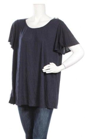 Γυναικεία μπλούζα Clothing & Co, Μέγεθος XXL, Χρώμα Μπλέ, 65% πολυεστέρας, 35% βισκόζη, Τιμή 17,28€