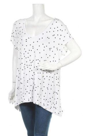 Γυναικεία μπλούζα Clothing & Co, Μέγεθος XXL, Χρώμα Λευκό, 95% βισκόζη, 5% ελαστάνη, Τιμή 11,69€
