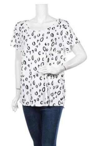 Γυναικεία μπλούζα Clothing & Co, Μέγεθος XL, Χρώμα Λευκό, 95% βισκόζη, 5% ελαστάνη, Τιμή 11,69€