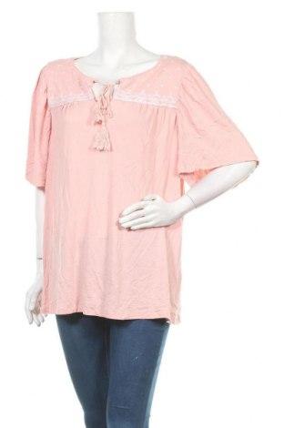 Γυναικεία μπλούζα Clothing & Co, Μέγεθος XXL, Χρώμα Ρόζ , 97% βισκόζη, 3% ελαστάνη, Τιμή 11,04€