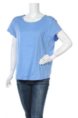 Γυναικεία μπλούζα Croft & Barrow, Μέγεθος XXL, Χρώμα Μπλέ, Βαμβάκι, Τιμή 9,87€