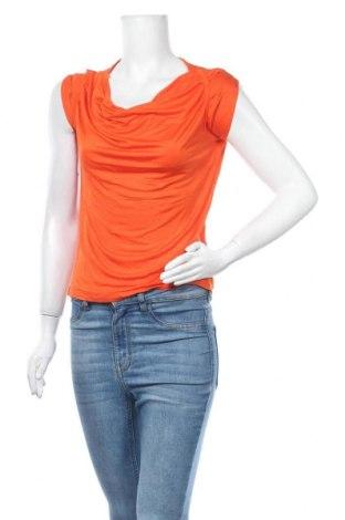 Дамска блуза De.corp By Esprit, Размер XS, Цвят Оранжев, Вискоза, Цена 12,29лв.