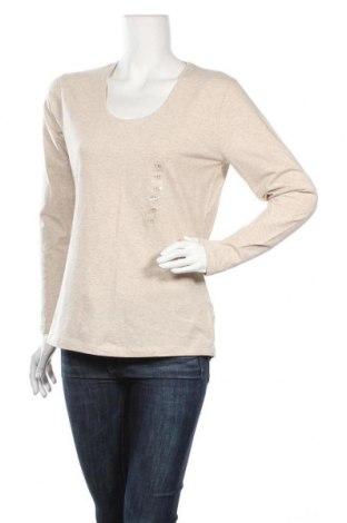 Γυναικεία μπλούζα Emerson, Μέγεθος XL, Χρώμα  Μπέζ, Βαμβάκι, βισκόζη, ελαστάνη, Τιμή 16,89€