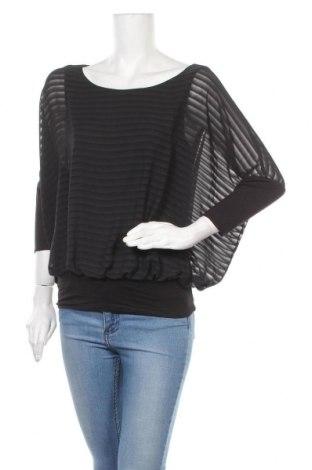 Дамска блуза Esprit, Размер M, Цвят Черен, Полиестер, Цена 7,06лв.