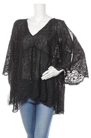 Γυναικεία μπλούζα Forever New, Μέγεθος XL, Χρώμα Μαύρο, Πολυεστέρας, Τιμή 10,52€