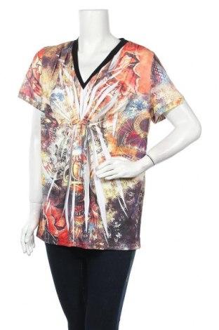 Дамска блуза Gabriella Frattini, Размер XL, Цвят Многоцветен, 95% полиестер, 5% еластан, Цена 5,04лв.