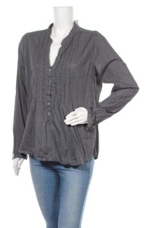 Γυναικεία μπλούζα H&M L.O.G.G., Μέγεθος XL, Χρώμα Γκρί, Βαμβάκι, Τιμή 11,11€